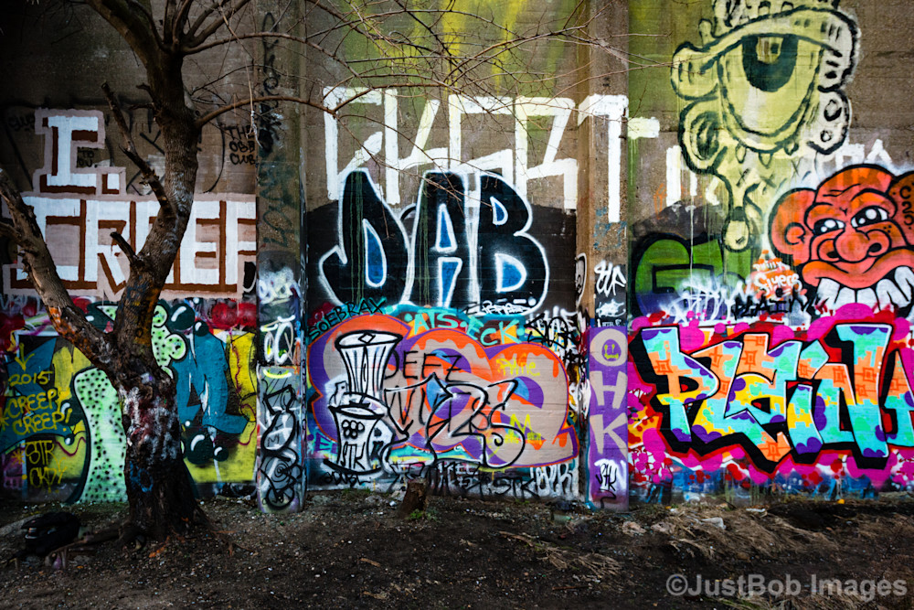Just Graffiti Fine Art Photograph | JustBob Images