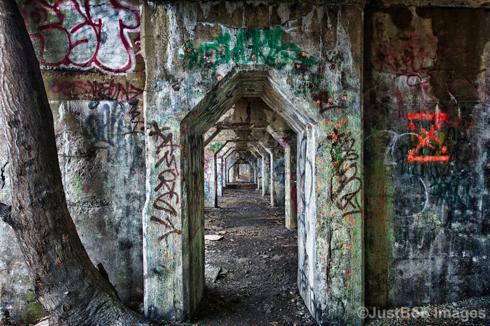 Graffiti Underground #9 Fine Art Photograph | JustBob Images