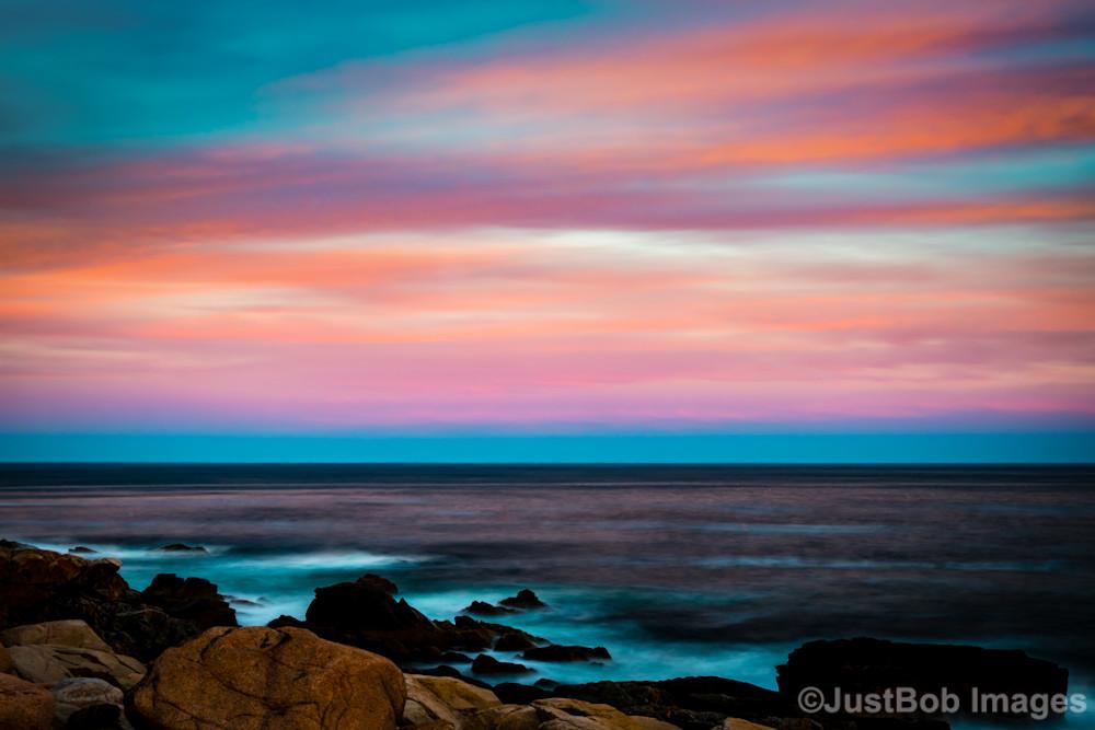 Acadia Shoreline at Sunset Fine Art Photograph   JustBob Images