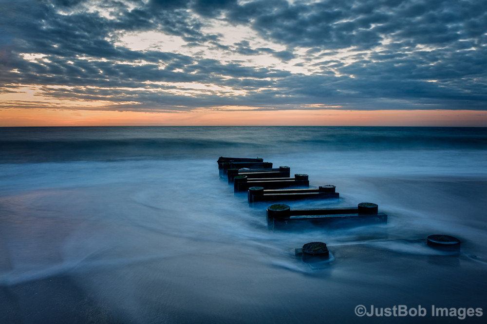 Outfall at Sunrise Fine Art Photograph | JustBob Images