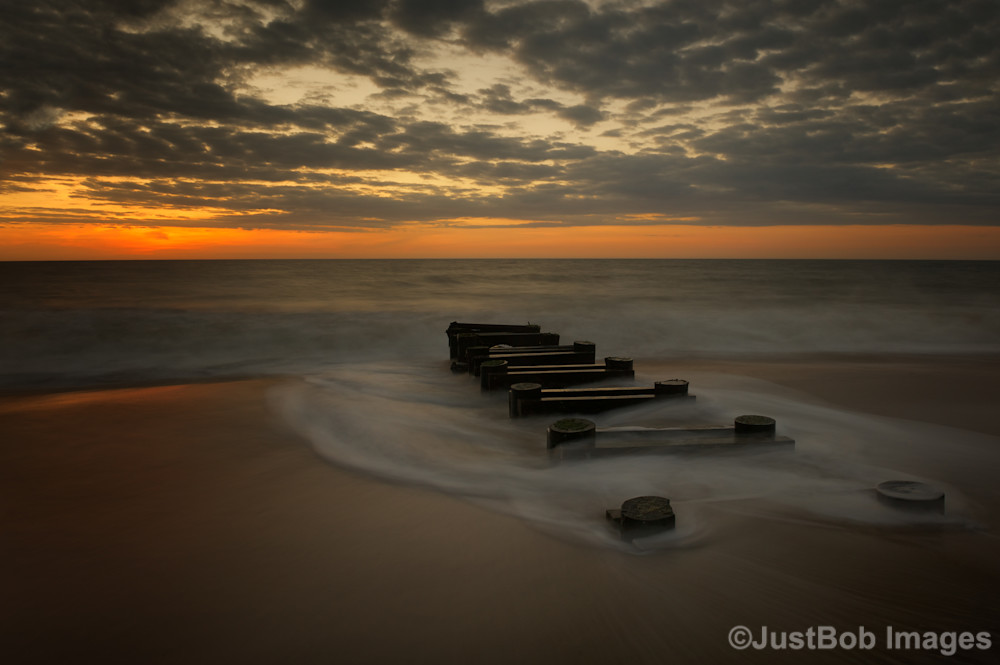 Outfall at Sunrise #4 Fine Art Photograph | JustBob Images