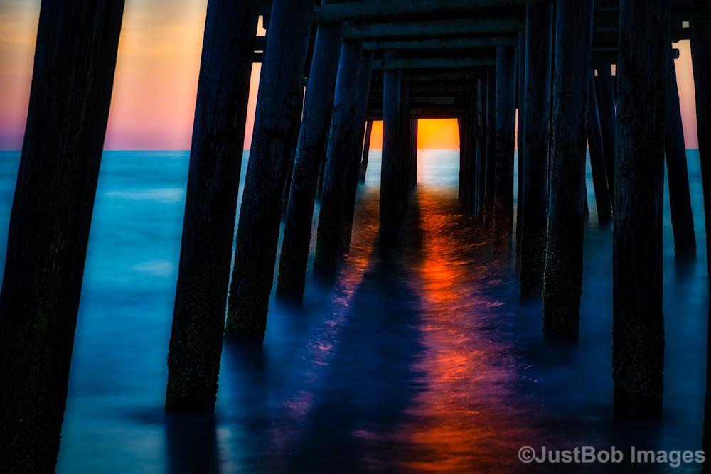 Virginia Beach Pier #2 Fine Art Photograph | JustBob Images