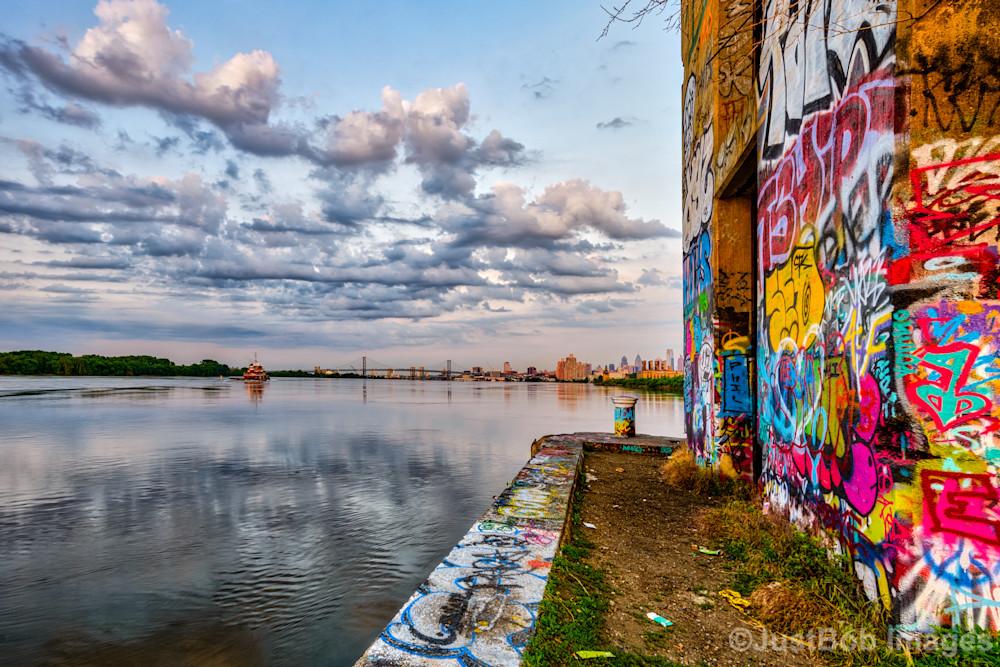 Graffiti Underground at Sunrise #2 Fine Art Photograph   JustBob Images