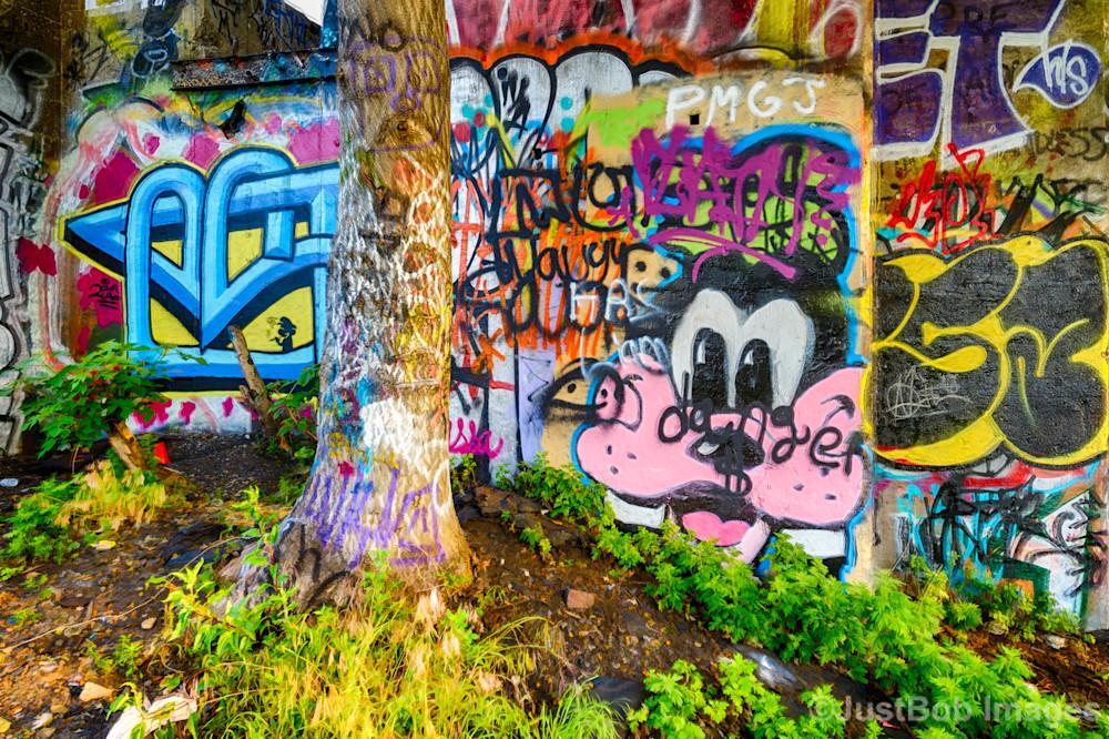 Wall of Graffiti #2 Fine Art Photograph | JustBob Images