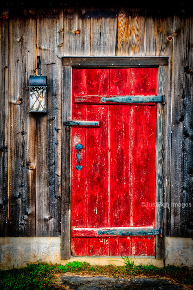 Red Door Fine Art Photograph | JustBob Images