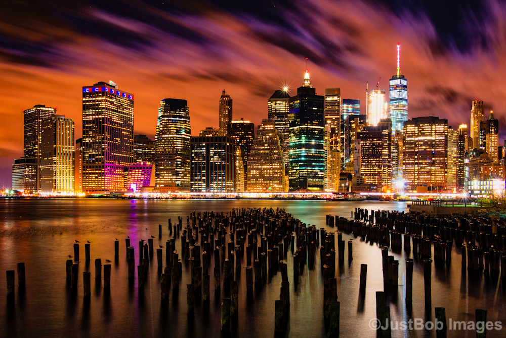 New York City Skyline #3 Fine Art Photograph | JustBob Images