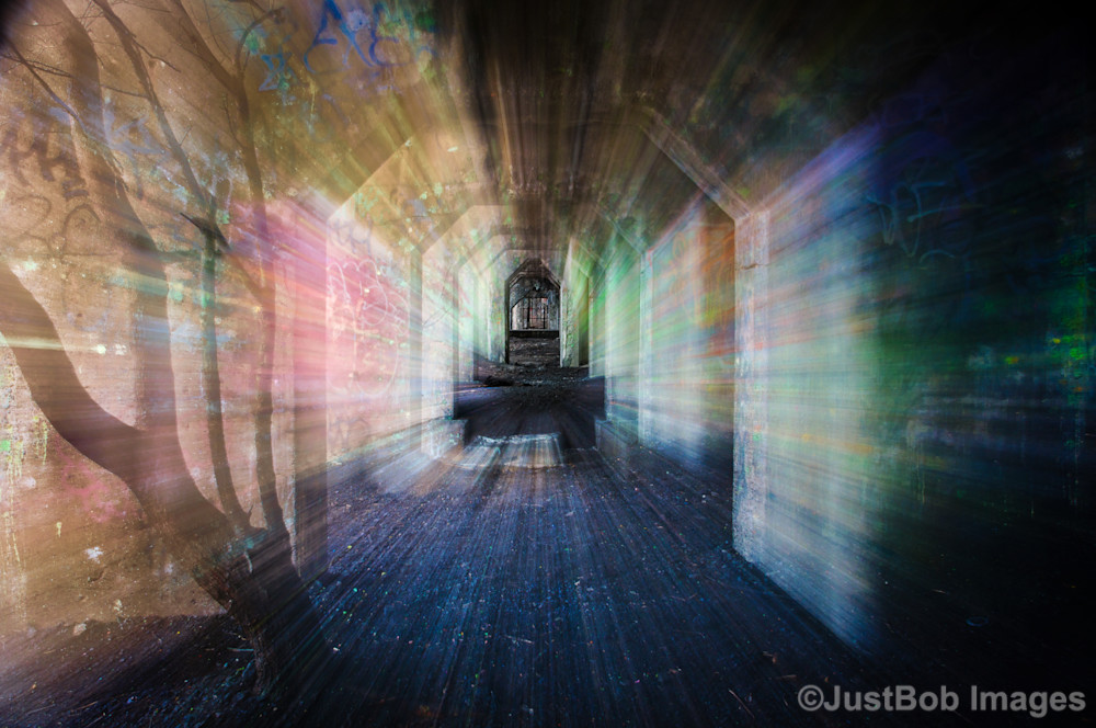 Graffiti Underground Spirits Fine Art Photograph | JustBob Images