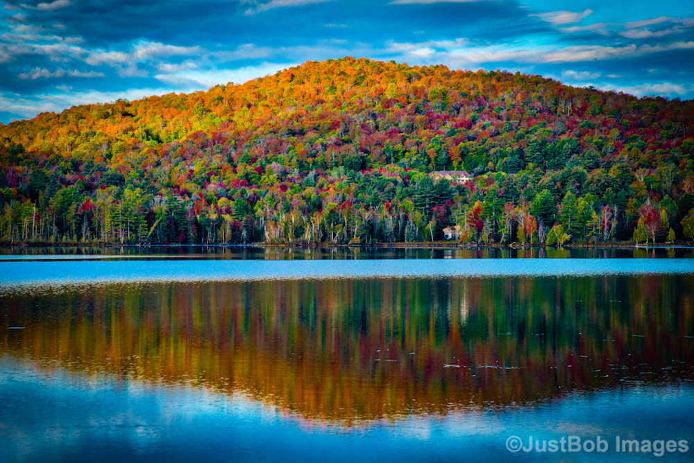 Fall Color Reflection Fine Art Photograph | JustBob Images