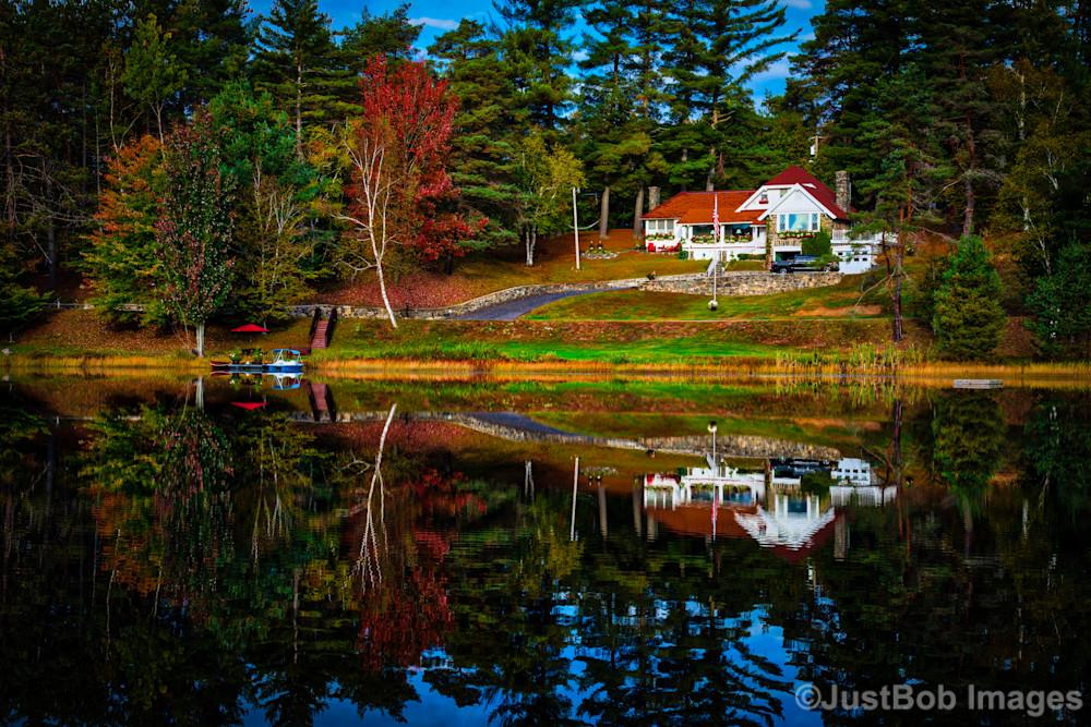 Adirondack Reflection Fine Art Photograph | JustBob Images