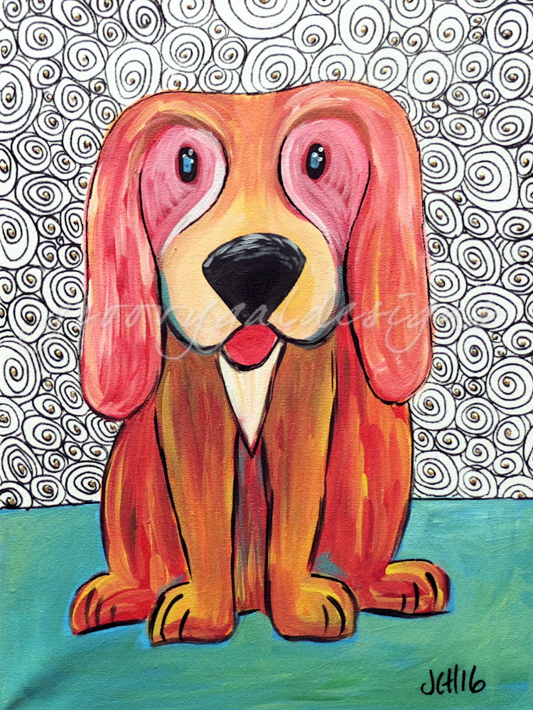 Funky Puppy Art | groovygaldesigns