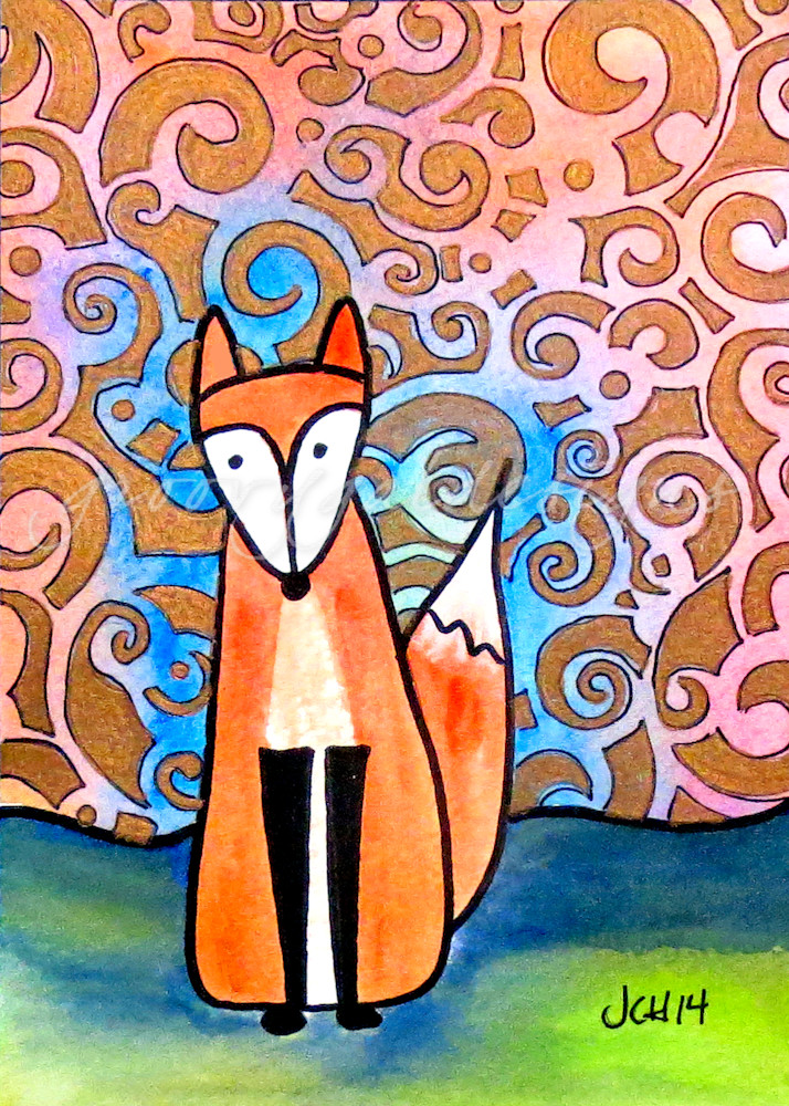 Baroque Fox Art For Sale
