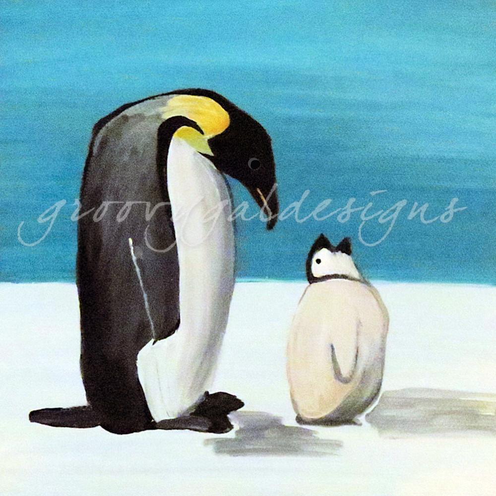 Penguin Love Art For Sale