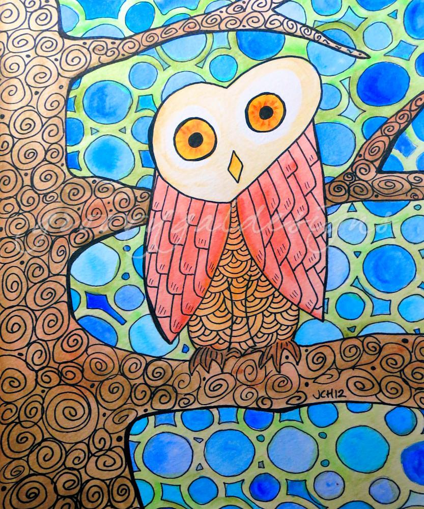 Funky Owl Art For Sale