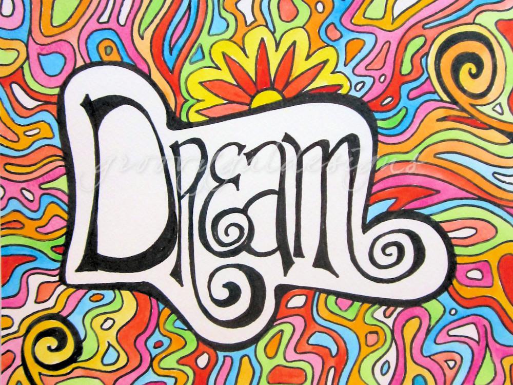 Dream Hippie Art For Sale