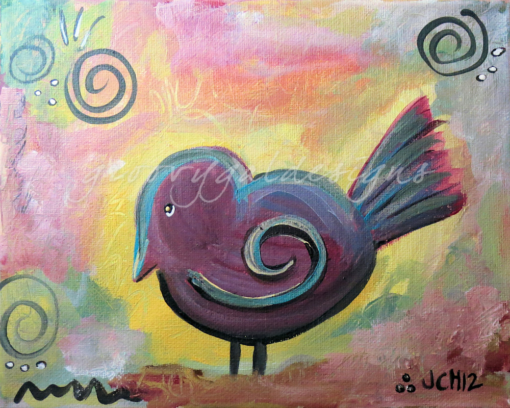 Fat Bird Art For Sale
