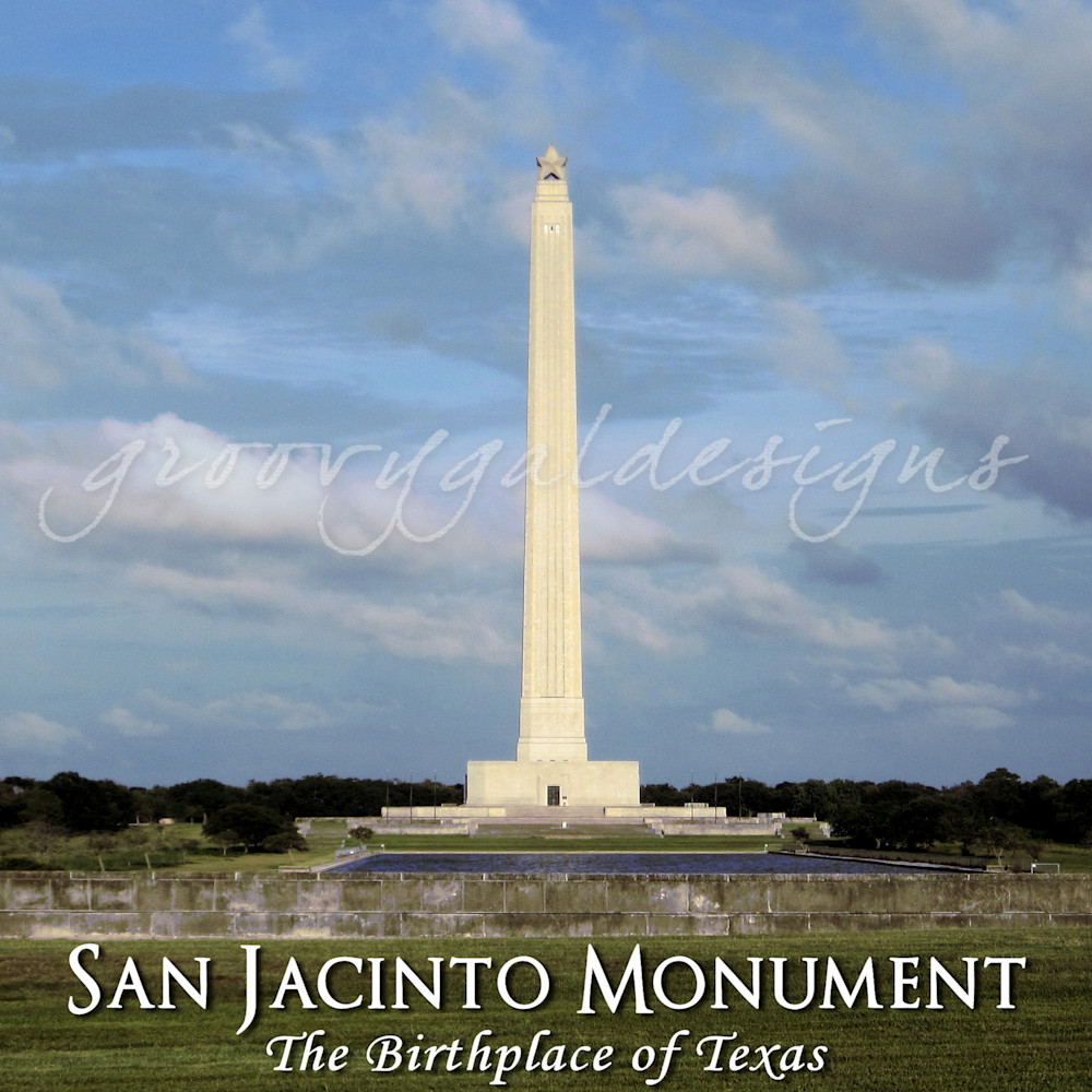 San Jacinto Monument Photograph Art For Sale
