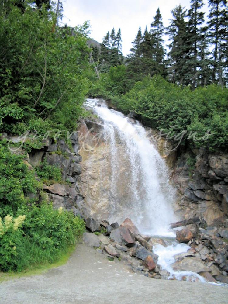 Skagway Alaska Waterfall Photograph Art For Sale