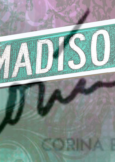 Madison Avenue pop culture sign