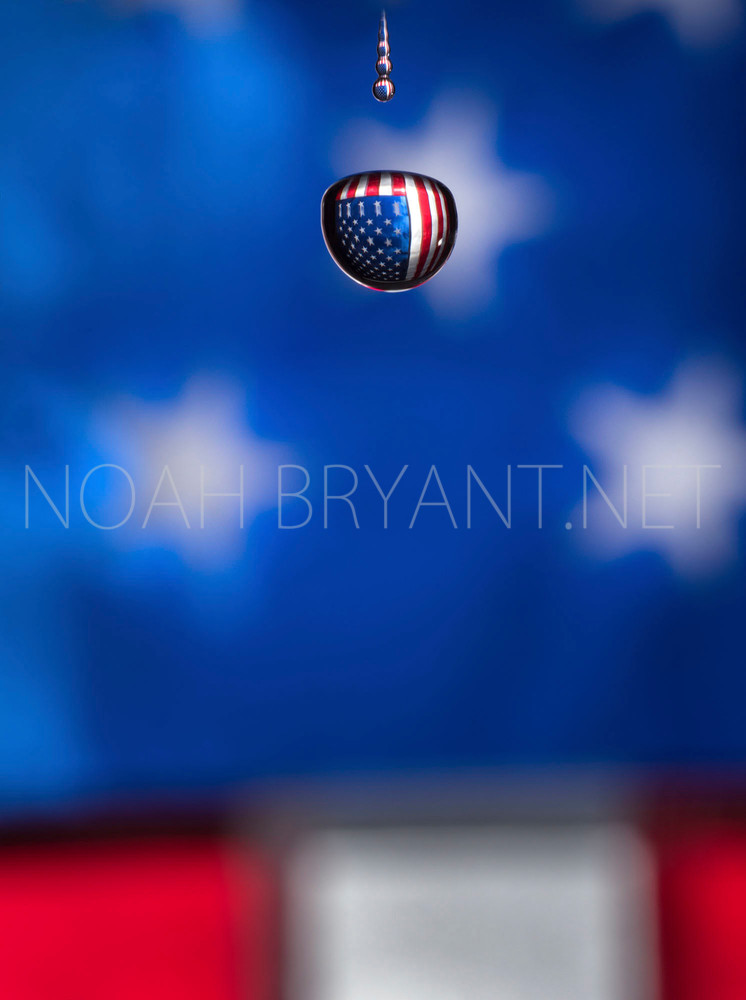 United States Flag - Photograph by Noah Bryant