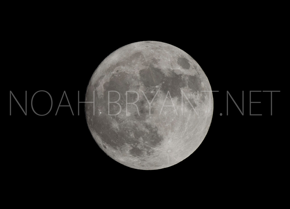 Full Moon - Fine Art Photograph by Noah Bryant