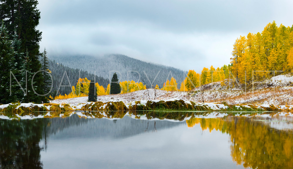 Kebler Pass Pond - Noah Bryant