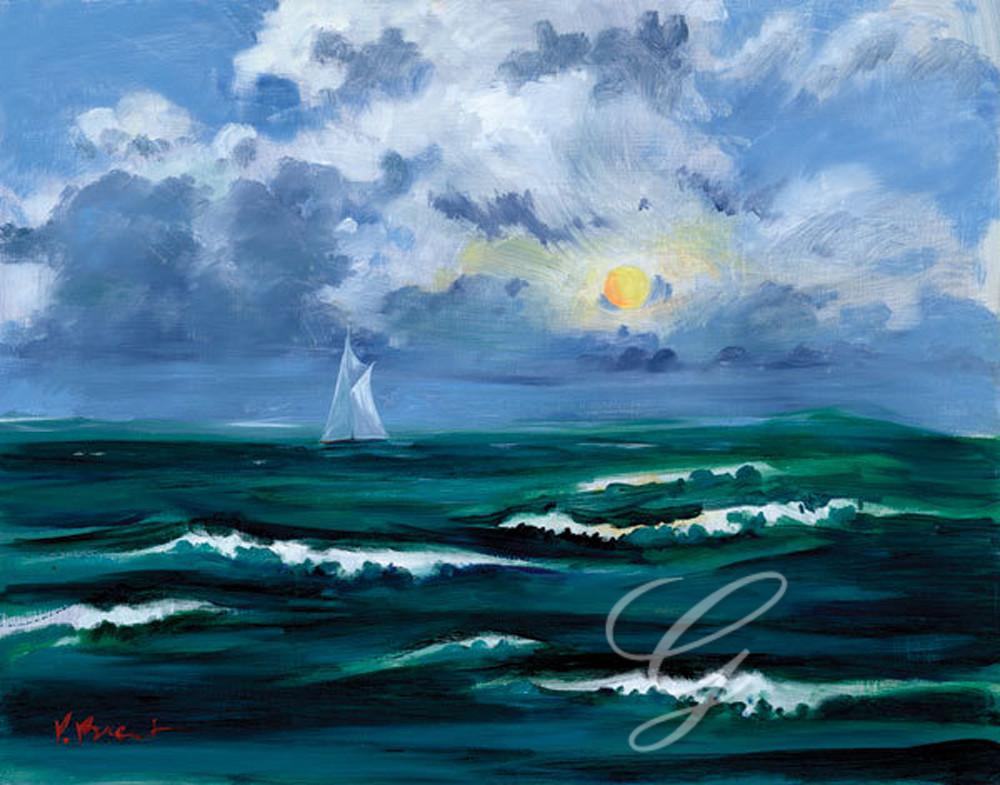 Sailboat Cloudscape