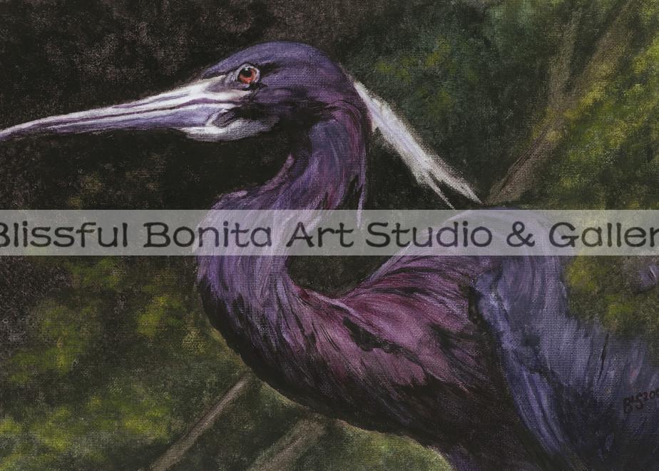 Blue Heron: Emerging Art | Blissful Bonita Art Studio & Gallery