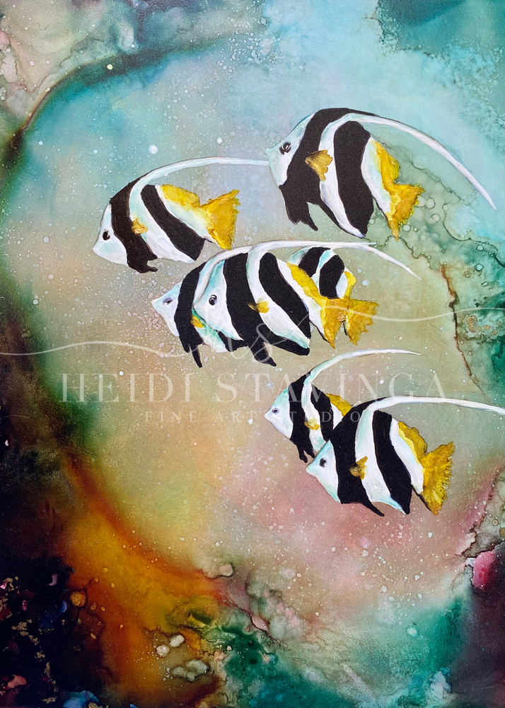 Heavenly Waters Art   Heidi Stavinga Studio