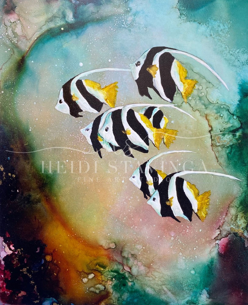 Heavenly Waters Art | Heidi Stavinga Studio