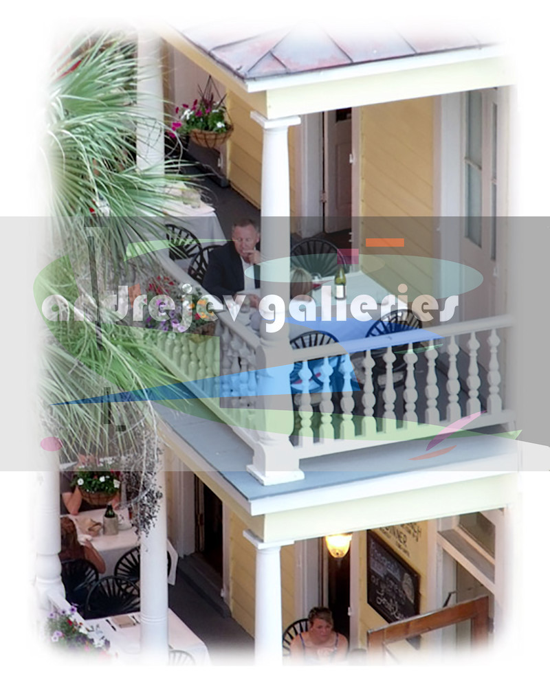 Charleston Photography - Poogan's Porch