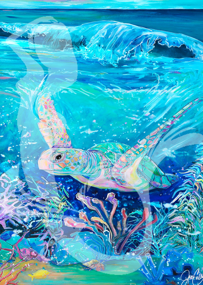 Ocean Layer All Together Art | jenartworkgallery