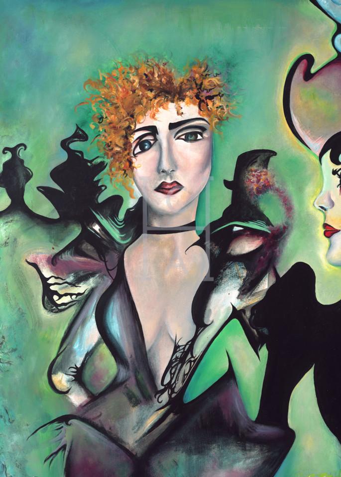 Les Femmes De Lautrec' de Camille High Quality Giclee Print Art
