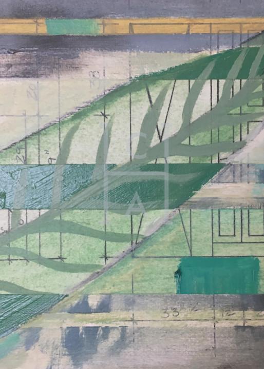 Palm Render Detail Print de Camille High Quality Giclee Print Art