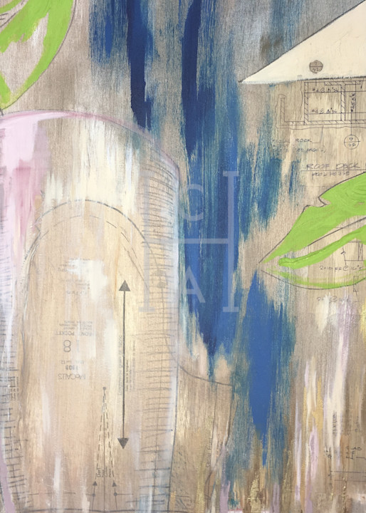 Pow Palms de Camille High Quality Giclee Print Art, Cool Art House