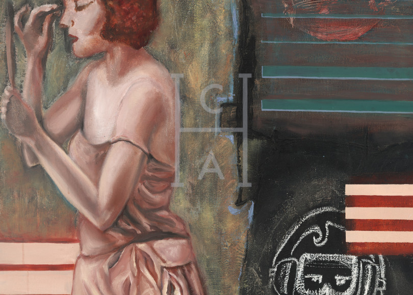 Depressed Senses, de Camille High Quality Giclee Print Art