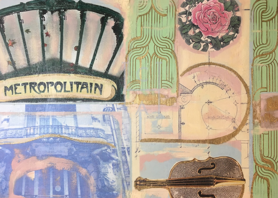 Metropolitain, Paris Detail Print de Camille High Quality Giclee Print Art, Cool Art House