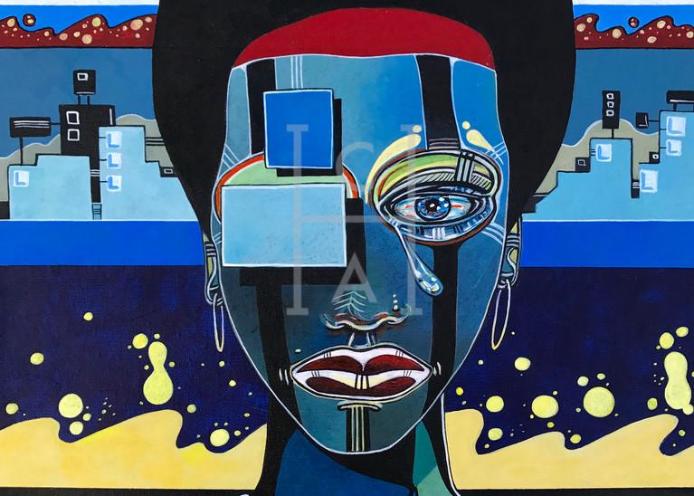 Femme Dans La Ville by Arthur High Quality Giclee Print Art, Cool Art House
