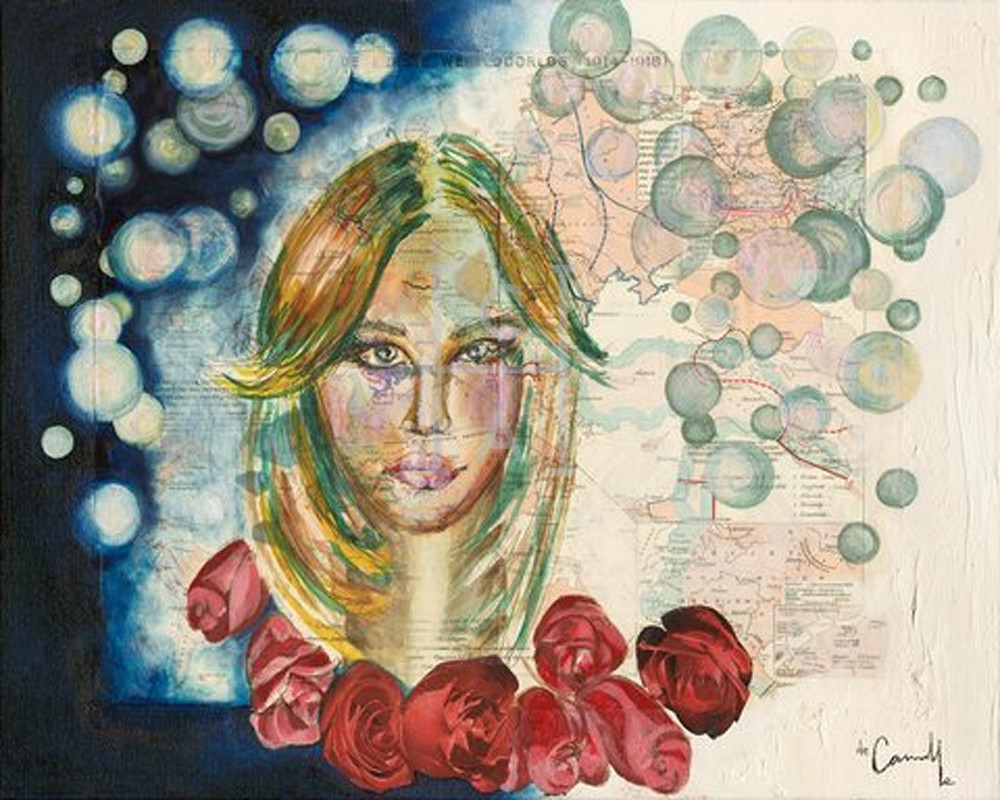 Bubble Baby' de Camille High Quality Giclee Print Art