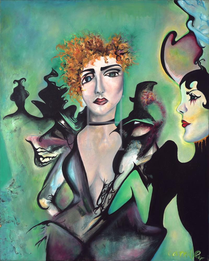 Les Femmes DeLautrec' de Camille High Quality Giclee Print Art
