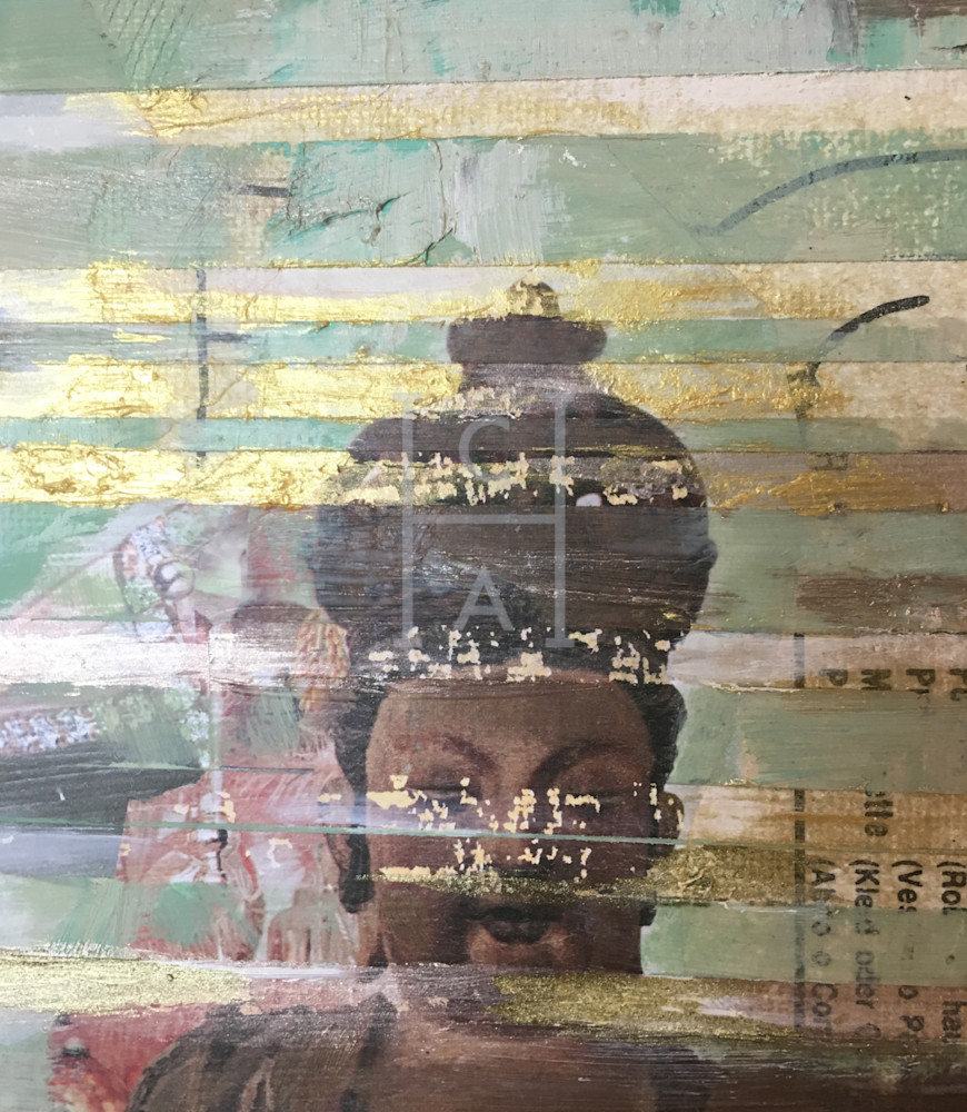 Seated Buddha 1 Close-up de Camille High Quality Giclee Print Art