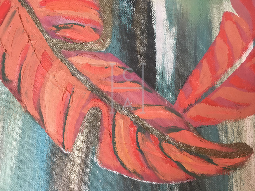 Peek A Me, Palm de Camille High Quality Giclee Print Art