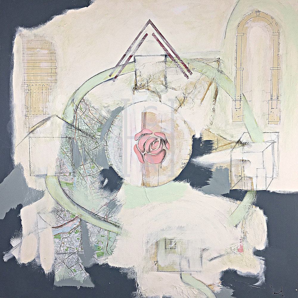 Housing Cycle Portland de Camille High Quality Giclee Print Art