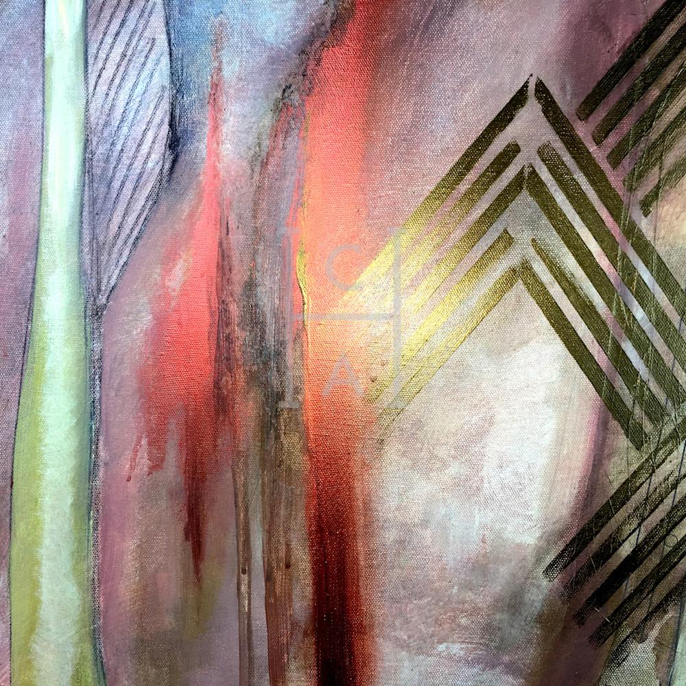 Tribal Deco Close-up de Camille High Quality Giclee Print Art