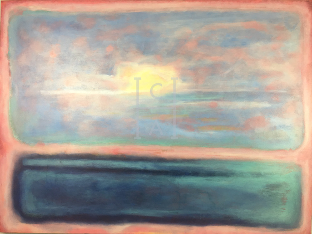 Sunset A LA Rothko