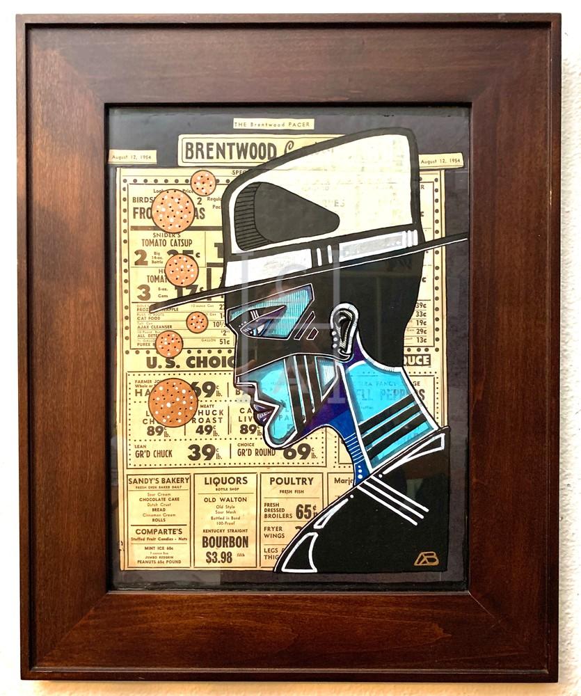 Routine by Arthur High Quality Giclee Print Art, Cool Art House