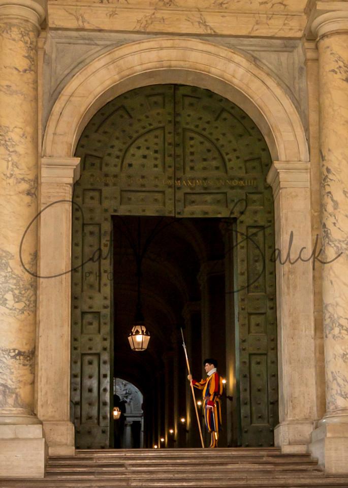 Guarding the Bronze Door: Swiss Guard at the Vatican
