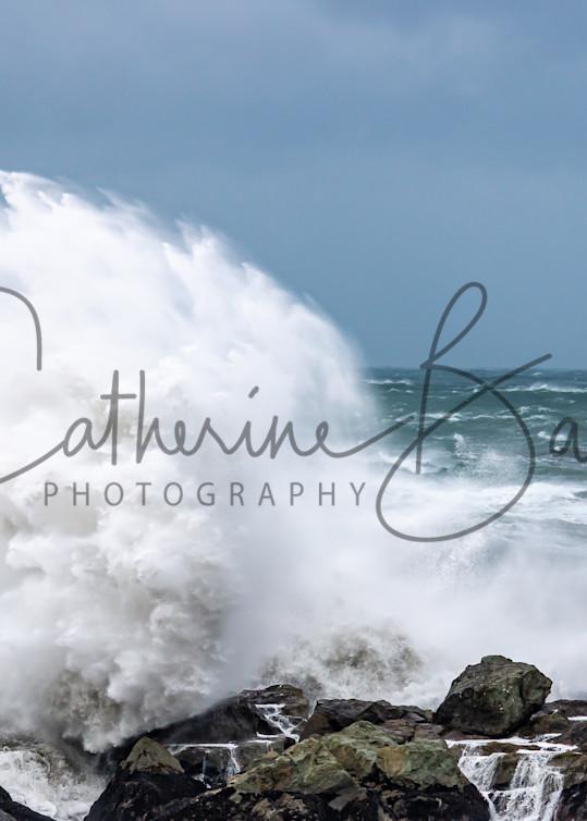 Winter Storm = Big Waves Photography Art | Catherine Balck Photography