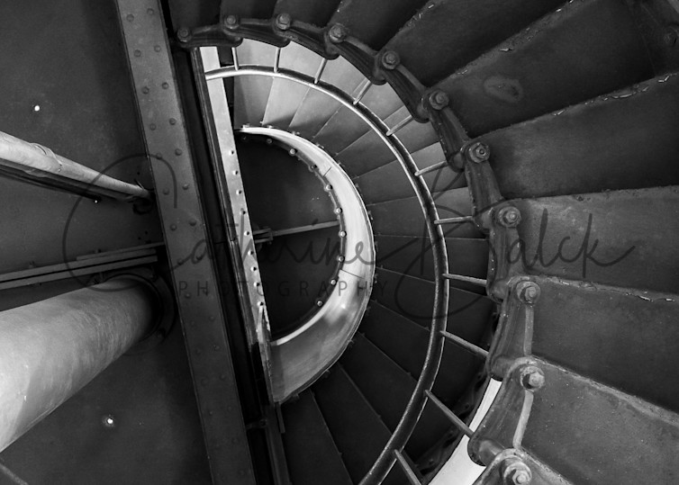 Point Arena Lighthouse Staircase Photography Art | Catherine Balck Photography