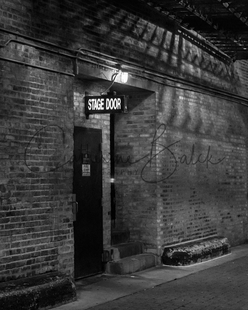 A Study Of Light: Back Stage Door Photography Art   Catherine Balck Photography