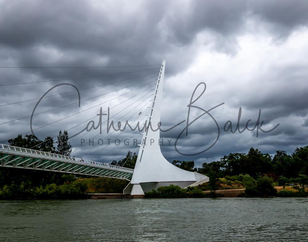 Stormy Skies over the Sundial Bridge
